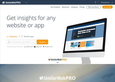 Website Traffic & Mobile App Analytics | SimilarWeb